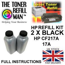 Toner Refill Kit For Use In HP LaserJet Pro M130FW Cartridges CF217A Black 17A