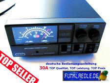 Funk Netzgerät K-PO KPS 28 SW 30A 9-15V u.13,8V baugl. Jetfon PC 30 SWM (KPO)
