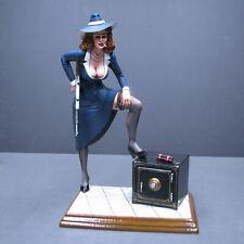 Jimmy Flintstone Machine Gun Mama Resin Figure Kit