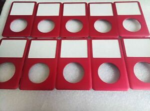 LOT 10X Red Front Faceplate Housing Case Cover for iPod 6th 7th Classic 160GB