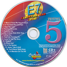 Karaoke CD+G Essential-7 disc vol-5 Collector's Edition,Gaspel New in sleeve