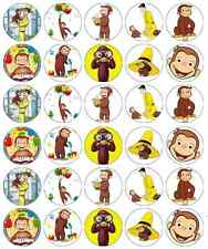 Curious George Cupcake Toppers Edible Wafer Paper BUY 2 GET 3RD FREE!