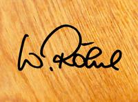 Walter Röhrl Aufkleber Sticker Autogramm Ur S1 5 Zylinder Rallye Unterschrift V6