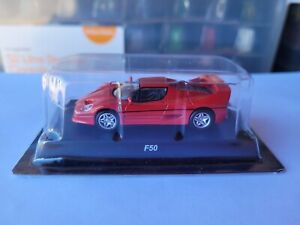 KYOSHO COLLECTION - FERRARI F50 [RED] NEAR MINT VHTF 1:64 SCALE COMBINED POSTAGE