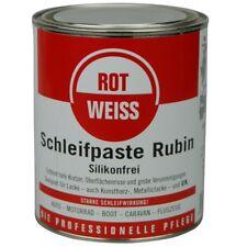 ROTWEISS Schleifpaste Rubin 750 ml,  22,60 EUR / Liter
