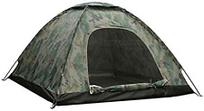 New listing KCHEX New 4 Person Outdoor Camping Waterproof 4 Season Tent Camouflage Hiking
