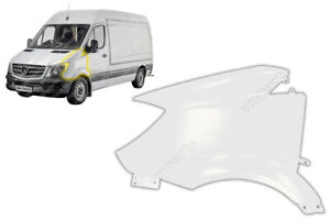 FRONT WING PANEL FOR MERCEDES SPRINTER NEAR SIDE LH N/S 2014 - 2018 WHITE