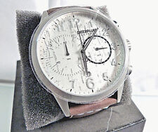 CAT WATCH EX.143.35.212 CHRONOGRAPH LEATHER STRAP BNWT 2 yr WARRANTY BOXED NEW