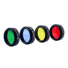 Hot 1.25'' 31.7mm Set of 4 Color Telescope Eyepiece Filter Set for Telescope ES
