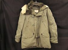 Vintage Us Military Parka Extreme Cold Type N3B Mil-P-62791 Size Medium