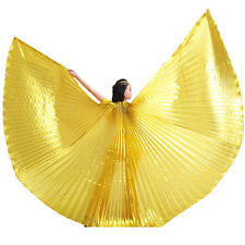 Dancer Professional Isis Wings India Egypt Belly Dance Costume Angel Isis Wings