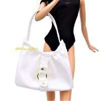 Barbie Basics Accessory Large White Beach Tote Bag Mint out of Box