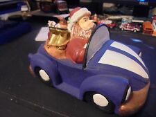 OLD  ceramic  XMAS ....superb    VW  bug/ beetle  gift item....for  the table.