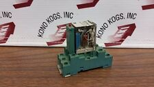 Finder Type 55.33 Relay 10A  250V with Socket Base