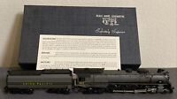 VINTAGE UNITED ATLAS PFM HO BRASS UNION PACIFIC FEF-1 4-8-4 LOCOMOTIVE & TENDER