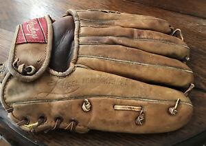 Rawlings Vintage Fielder's Baseball Glove Model LG 30 Dick Groat Pirates