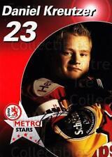 2003-04 German DEG Metro Stars Postcards #11 Daniel Kreutzer