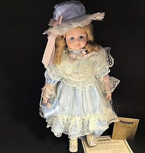 "SEYMOUR MANN DOLL EASTER OUTFIT CONNOISSEUR COLLECTION GISELLE 16"" PORCELAIN"