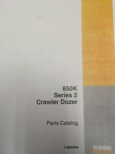 Case 650K SERIES 2 II dozer crawler tractor Parts manual Catalog book 7-9650na