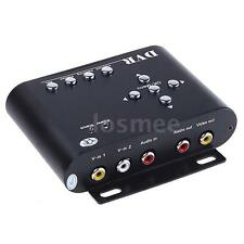 2 Channels Car Security Mini DVR SD Video/Audio CCTV Recorder Motion Detect H2E5