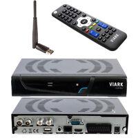 Viark Combo 1080p DVB-S2 Sat Satelliten Receiver DVB-C/T2 FullHD Wifi-Stick IPTV
