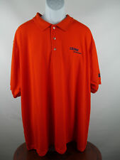 NWT NEW King Louie Men's Polo Shirt Orange Liunai Made in USA XXXL 3XL B4