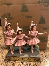 Jim Shore Wizard of Oz Lullaby League Munchkins Nrfb Retired 4032523