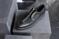 Underground Shoes Creepers Platform Leather Ponyhair Sz 8 Punk Goth
