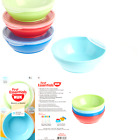 NUK First Essentials Bunch-a-Bowls, 4 count Bowls Colors May Vary