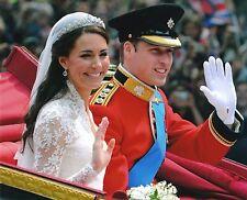 Prince William Duke Of Cambridge & Kate Middleton 8x10 Glossy Wedding Photo (B)