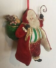 Katherine's Collection Retired Santa Claus Christmas Ornament