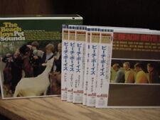 BEACH BOYS Pet Sounds JAPAN REPLICA TO ORIGINAL LP BOX SET Sealed IN 6 OBI CD'S
