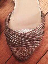 New without box $325 Loeffler Randall Lita mignon metallic leather pink sandal 8