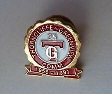 Thorncliffe Greenview Community 35 Year Anniversary 1956 - 1991 Calgary AB Pin