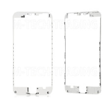 NEW IPHONE 6 PLUS 5.5 WHITE OUTER LCD TOUCH SCREEN TRIM BEZEL + 3M STICKER PART