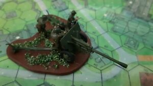 Soviet WW2 76mm Gun, 1/72 scale, 20mm, painted figures and model