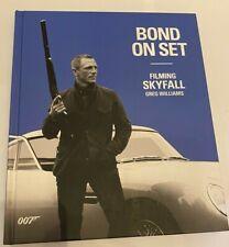Bond On Set: Filming 007 Skyfall -  Williams, Greg, Very Good Book