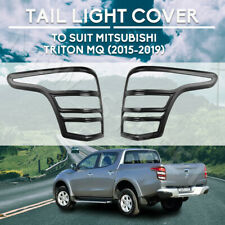 Tail Light Cover Trim Rear Lamp Protector Suits Mitsubishi Triton MQ 2015-2018