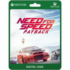 Need for Speed Payback Xbox One Codice Download per Gioco Digitale CD Key