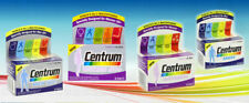 Centrum Multivitamins Men Women Men 50+ Women 50+ WORLD'S NO.1 VITAMINS Pfizer