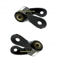 2 X REAR LEAF SPRING SHACKLE FOR JEEP CHEROKEE XJ 1984-2001