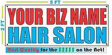 CUSTOM NAME HAIR SALON Banner Sign NEW Larger Size Best Quality for the $$$