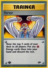 Fervor - 124/132 - Common - 1st Edition - Gym Challenge - NM - Pokemon