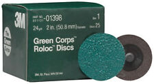 "3M 1398 - Green Corpsa?? Roloca?? Disc 01398 2"" 24YF 25 discs/bx"