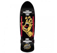 "Santa Cruz 80s Screaming Hand 9.42"" Complete Cruiser Skateboard"
