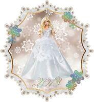 Mattel 2013 Holiday Barbie Doll with Blonde Hair NIB