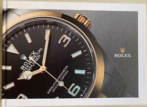 NEW Hardcover Rolex Catalog 2021-2022