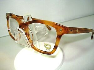 NEW MCM AUTHENTIC EYEGLASSES 2614 STRIPED COGNAC 256