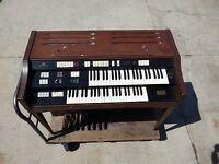 Early 1960s Wurlitzer Multi Matic Percussion Electric Organ Vintage Model 4140