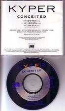 KYPER Conceited RARE RADIO MIX & CLUB MIX PROMO DJ CD single